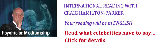 International readings with Craig